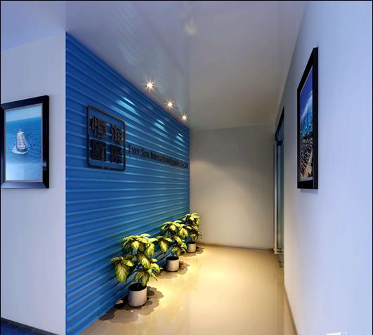 办公室装饰前台效果图-有关简约风格办公室装修设计案例剖析介绍