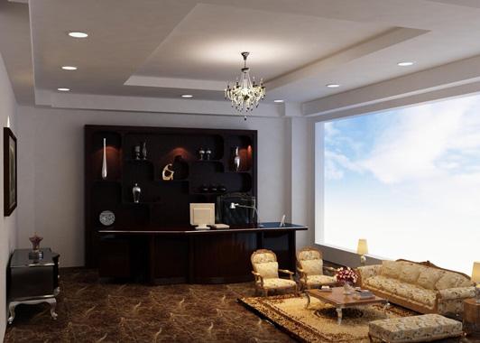 欧式格局的北京办公室装修风格特征及细节搭配