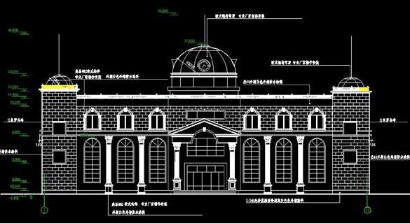 三层小型酒店装修设计图