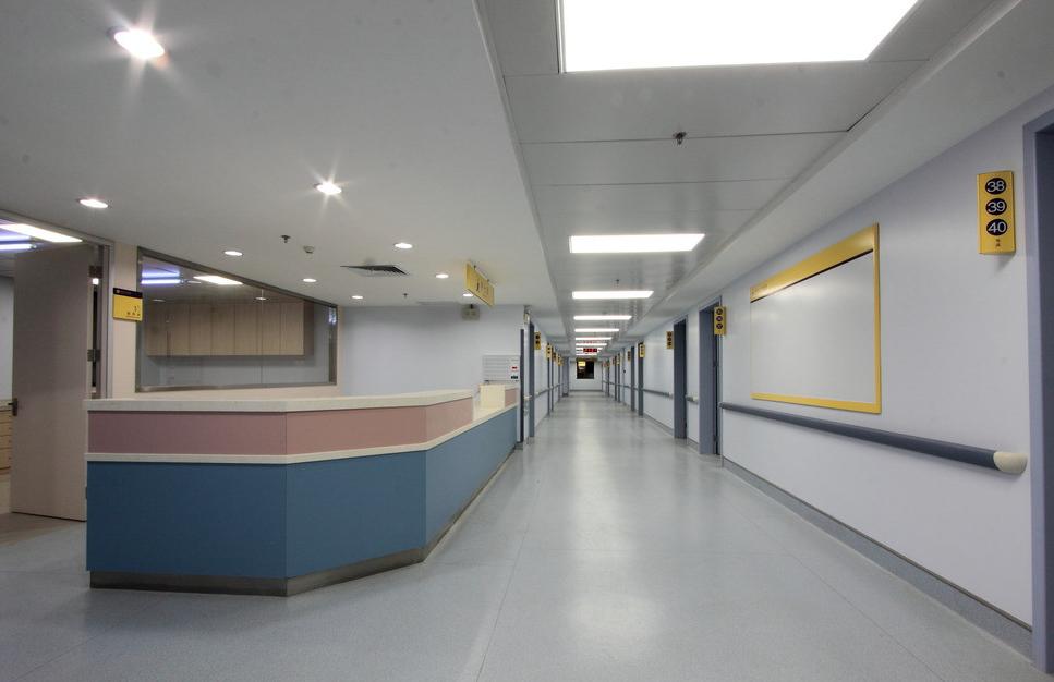 医院装修不同科室标识设计可采用不同